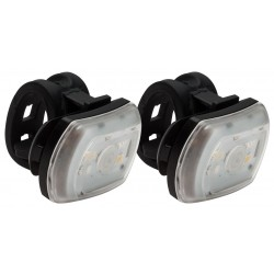 Blackburn 2'Fer Front or Rear Light Set Black