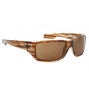 SPY Optics HAYMAKER Striped Tort Bronze Sunglasses