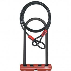 Abus Ultimate Combopack U-Lock 420 STD + USH U-Lock - 9 inch U/14mm round diameter + 10mm/140cm cable
