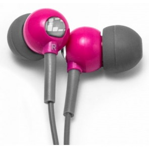 X-1 Flex All Sport Waterproof Headphones - Power Pink by H2O Audio