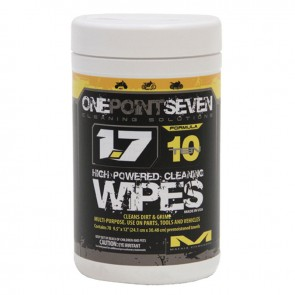 OnePointSeven Formula 10 Cleaning Disposal Wipes 2014