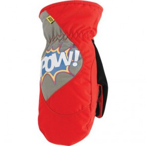 POW Grom Mitten Red Medium