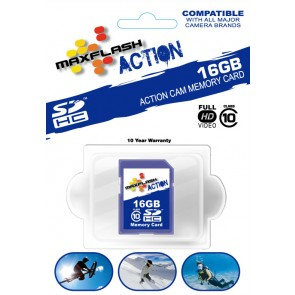 Max Flash 16GB SDHC Class 10 Memory Card