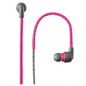 X-1 In-Ear Custom Headphones w/ Moldable Ear Clip - Pink by H2O Audio