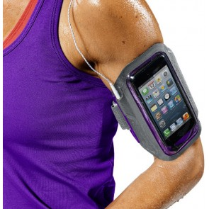 X-1 Momentum Sport Armband - Purple - by H2O Audio