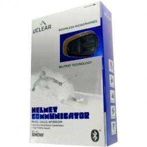 Uclear Snow HBC 120 Wireless Bluetooth Helmet Communicator